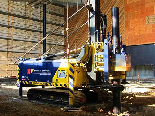 Morris-Shea CIDH Pile Installation